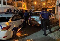 İzmirde hareketli saatler İntihar etmek isteyen şahıs 3 saatte ikna oldu