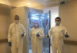 Türk bilim insanları Corona virüsü 30 saniyede öldüren kabin geliştirdi