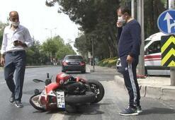 Ünlü çiğköfteci Ömer Aybak lüks otomobiliyle kaza geçirdi