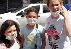 8 yaşındaki Cemre Nur'un yardımına zabıta koştu