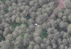 Son dakika haberi: Ormanda piknik yapan kişiler drone ile tespit edildi
