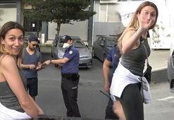 Son dakika haberler: Sokağa çıkma yasağında ceza kesilen kadından gazeteciye tehdit