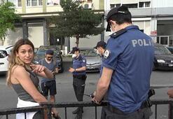 Polisin ceza kestiği kadından gazeteciye tehdit: Annem medya danışmanı