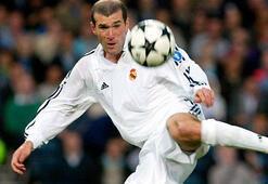 Zinedine Zidaneın Real Madrid formasıyla attığı harika goller