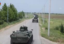 Azerbaycan ordusu geniş kapsamlı tatbikat başlattı