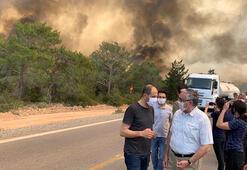 KKTC Tarım Bakanı Oğuz: Dünkü yangın, 1995 sonrası en büyük orman yangınıydı