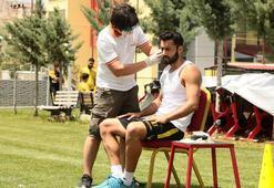 Yeni Malatyasporlu futbolcular laktat testinden geçti