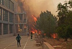 KKTC'de çıkan yangınlarla ilgili bir kişi gözaltına alındı