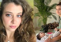Gamze Erçelin kızı Aylin Mavi 5 aylık oldu