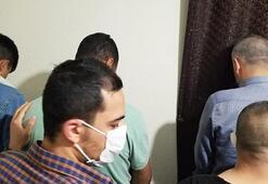 Polisten şok baskın Kumar oynayan 15 kişiye ceza