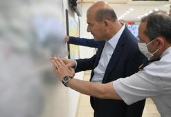 İçişleri Bakanı Soylu, Jandarma Harekat Merkezinde incelemelerde bulundu