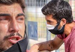 Karantina bölgesine girerken yakalandı, polise ağlayarak itiraz etti