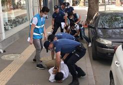 Son dakika haberi: Sakaryada kimlik soran polise mukavemet