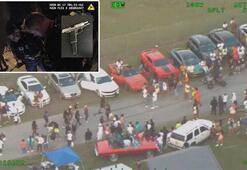 Floridada sokak partisi düzenleyen gruba polis baskın düzenledi
