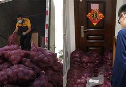 Kendisini aldatan sevgilisine 1 ton soğan gönderdi: Şimdi ağlama sırası sende