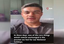 Ozan Kabaktan 19 Mayıs mesajı