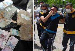 1 milyon liralık hırsızlık şüphelisi paralarla paylaşım yaptı, çatıda yakalandı