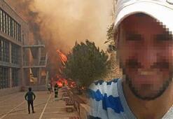 KKTC'deki yangınla ilgili gözaltına alınan şahıstan şok sözler Şeytana uydum