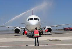 Son dakika: 8 milyondan fazla kişinin bilet aldığı uçak Samsun'a indi