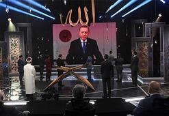 Cumhurbaşkanı Erdoğan, TRTnin düzenlediği Kuran-ı Kerimi Güzel Okuma Yarışmasına katıldı