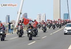 İstanbul'da Atatürk rallisi