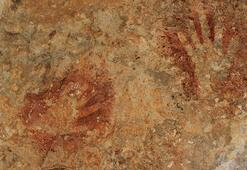 Binlerce yıllık el baskılarının olduğu mağaralar, milli park olacak