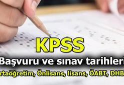 KPSS başvuru tarihi ne zaman 2020 KPSS başvuru ücreti ne kadar Ortaöğretim - Önlisans - Lisans - ÖABT - DHBT tarihleri