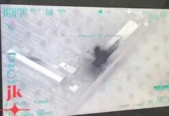 Türk SİHAsı Libyada Pantsiri böyle vurdu