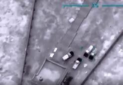 Libya ordusundan Terhunedeki Hafter milislerine hava harekatı