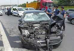 Son dakika I AK Parti Milletvekili Ümraniyede kazada yaralandı