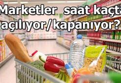 Marketler saat kaçta açılıyor 22 Mayıs marketler bugün saat kaça kadar açık olacak BİM, A101, ŞOK, Carrefour, Migros çalışma saatleri
