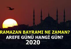 Ramazan Bayramı ne zaman başlıyor, ne zaman bitiyor Ramazan Bayramı 2020 kaç gün
