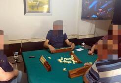 Edirne'de 4 kişi okey oynarken basıldı