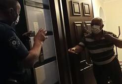 Polisten yaşlı çifte: Duanız yeter