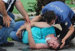 Son dakika... Antalya'da fenalaşan gencin imdadına polis yetişti