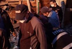 Kastamonu'nda ev çöktü 2 büyükbaş hayvan telef oldu