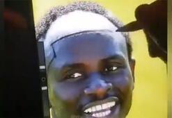 Bir taraftardan Sadio Maneye özel saç ekimi...