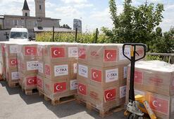 TİKAdan Hırvatistandaki ihtiyaç sahiplerine gıda yardımı