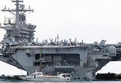 ABDnin Roosevelt uçak gemisi tekrar denize indi