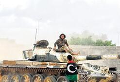 Libya ordusu, Vişkede Hafter milislerine ait zırhlı araçları vurdu