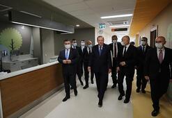 Cumhurbaşkanı Erdoğandan Başakşehir Çam ve Sakura Hastanesi paylaşımı