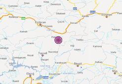 Deprem mi oldu 22 Mayıs AFAD son depremler listesi