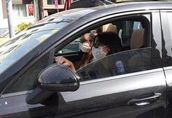 Zehra Çilingiroğlundan maske kontrolü