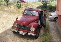1951 Model Fiat Topolinoyu yolda görenler hayran kalıyor