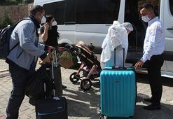 Kuveytten gelen Türk işçilerin 263ü evlerine gönderildi