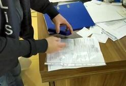 Esenyurtta yüksek mimarın ofisine sahte seyahat belgesi baskını