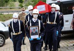 Kaza kurşunuyla ölen uzman çavuş, Tokatta toprağa verildi