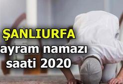 Bayram namazı saat kaçta 2020 Şanlıurfada bayram namazı kaçta kılınacak