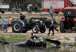 Otomobil dereye uçtu, 3 kişi boğularak yaşamını yitirdi