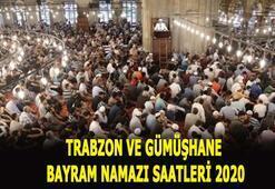 Trabzon ve Gümüşhane bayram namazı vakitleri 2020 Trabzon ve Gümüşhanede bayram namazı saat kaçta
